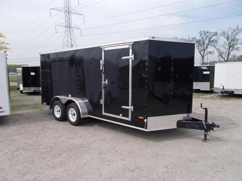 Enclosed Ramp Door Trailer - 7x14 - *OVERSTOCK CLEARANCE*