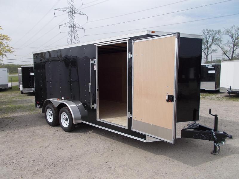 Enclosed Ramp Door Trailer - 7x14 - *OVERSTOCK CLEARANCE*
