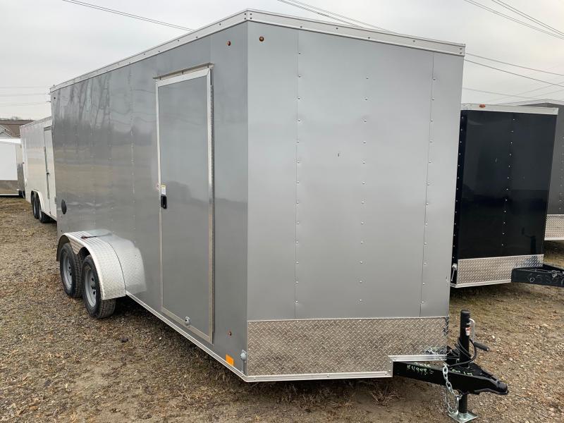 """7x14 LOOK DLX - 12"""" additional height - w/ Ramp Door"""