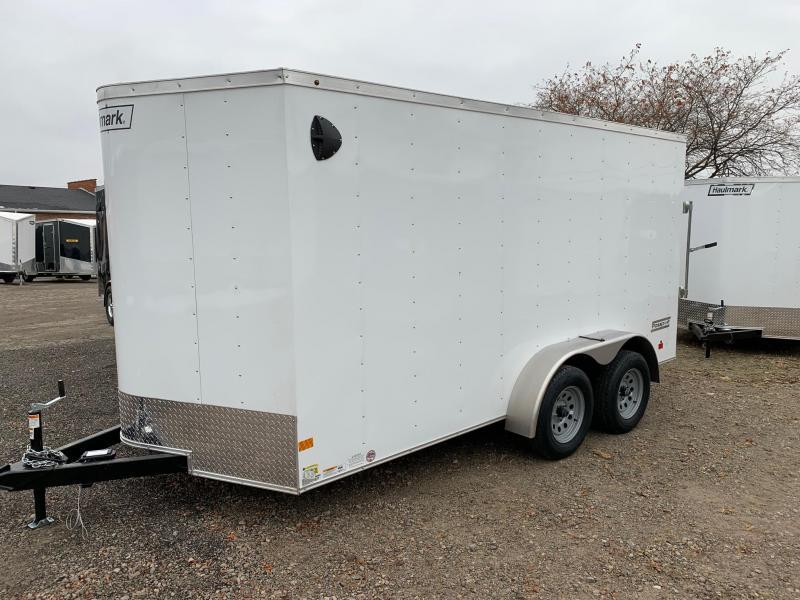 "7x14 Haulmark Passport Ramp Door - 16"" on center Walls - Tie Downs Pre-Installed"