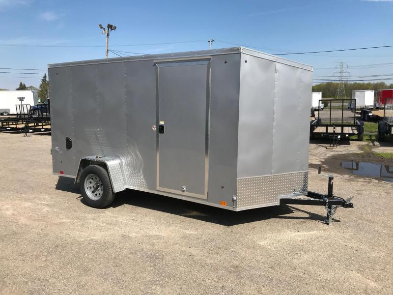 6x12 DLX Model Mid-Range Trailer - HIGH QUALITY FOR LOW PRICE!