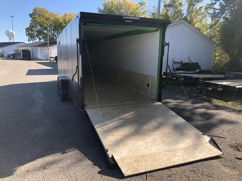 Snow Trailer Clearance -- 2020 Formula 7 x 29 5-Place Snowmobile Trailer w/ Blackout Option Package