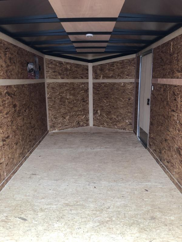2021 Look Trailers 7x14 DLX Enclosed Cargo Trailer