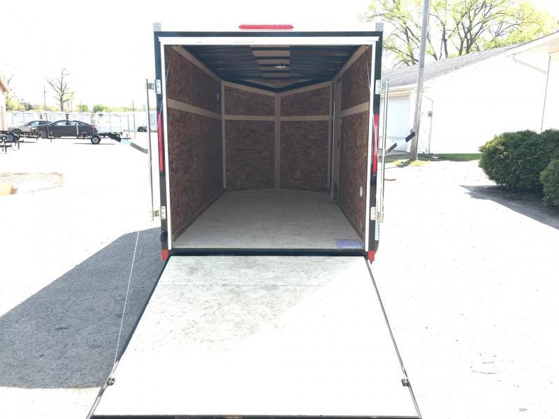 6x12 LOOK DLX w/ Ramp Door