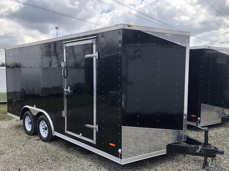 ! Damaged !2019 MTI Trailers MWT 8.5 X 16 7K Enclosed Trailer