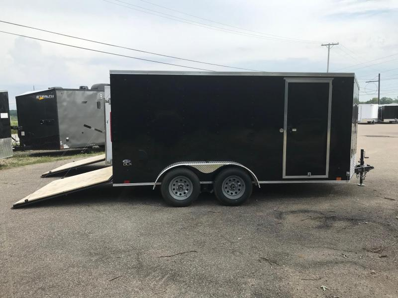 7x14 LOOK DLX w/ Ramp Door