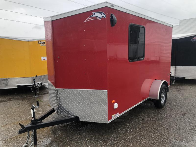 2019 American Hauler 6 x 12 Enclosed Cargo Trailer