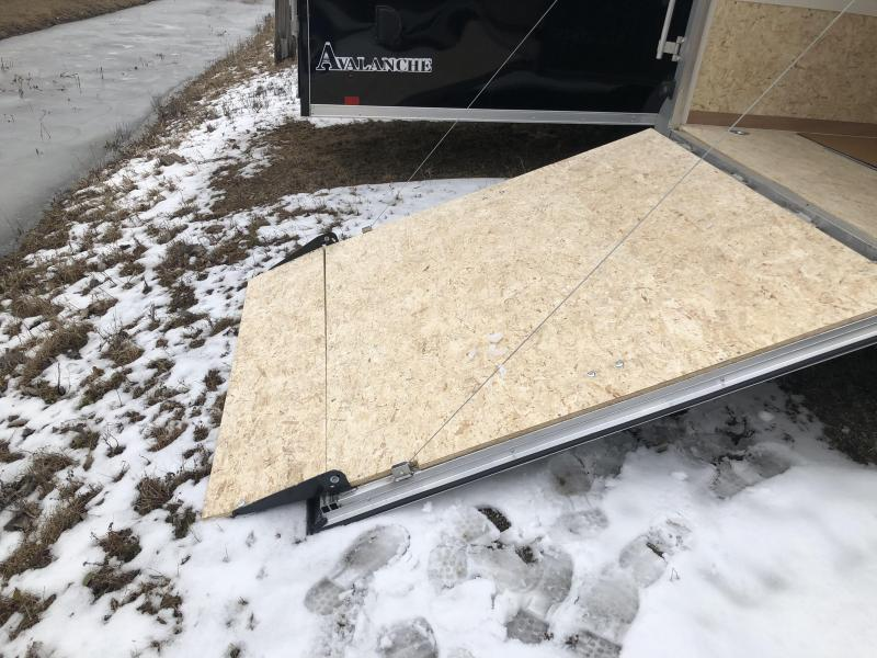 2020 7 x 23 Look Trailers Avalanche Snowmobile Trailer with 6ft extra height.