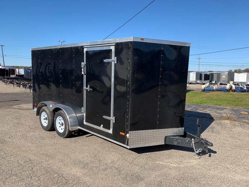 7x16 USA Model w/ Ramp Door (Black)