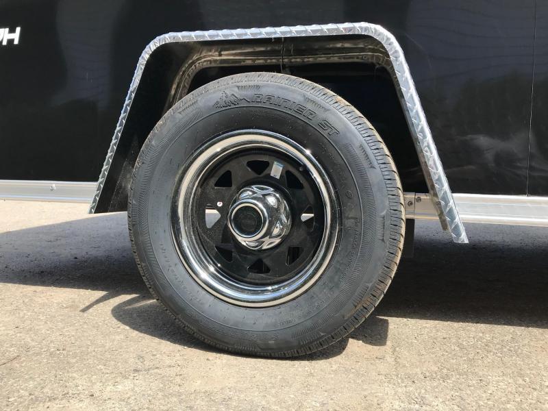 6x12 Ramp Door Formula Enclosed Trailer - FLASH PACKAGE