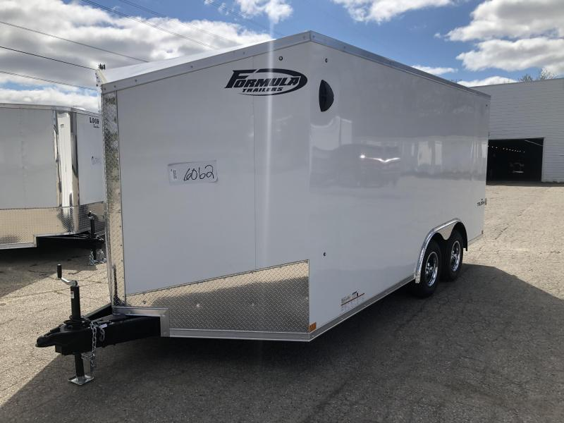 2021 Formula Triumph 8.5 x 16 Enclosed Cargo Trailer