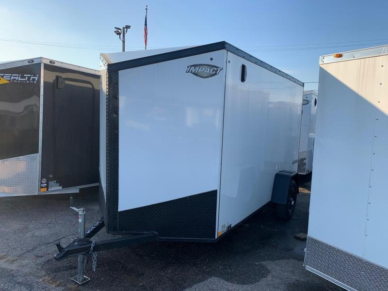 *2019 Model Clearance* Impact Trailers Tremor Enclosed Cargo Trailer w/ Extra 6 in of height and Blackout Package