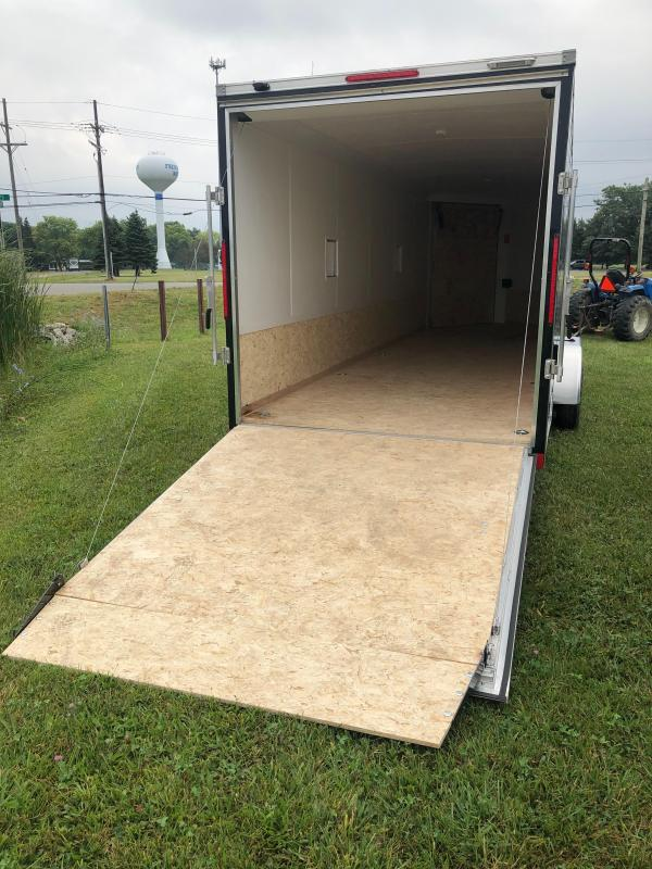 7x29ft 5-place Snow Trailer - 7ft Inside Height - Loaded Snow Package - All Aluminum