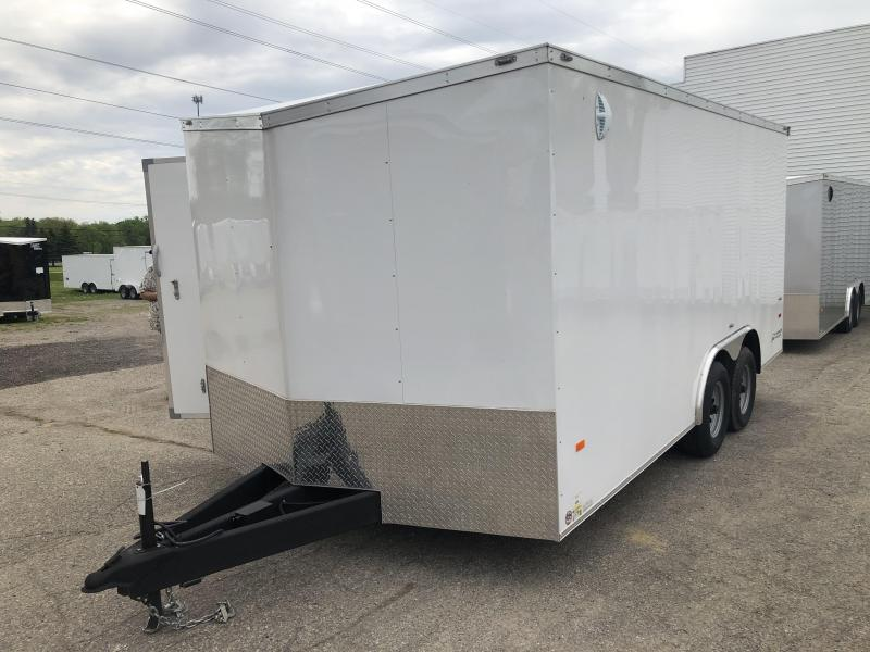 2020 American Hauler 8.5 x 16 10K Enclosed Cargo Trailer