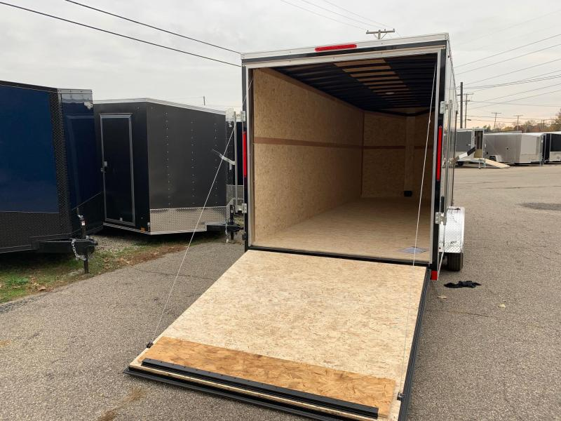 "7x20 LOOK Element - 12"" additional height - w/ Ramp Door"