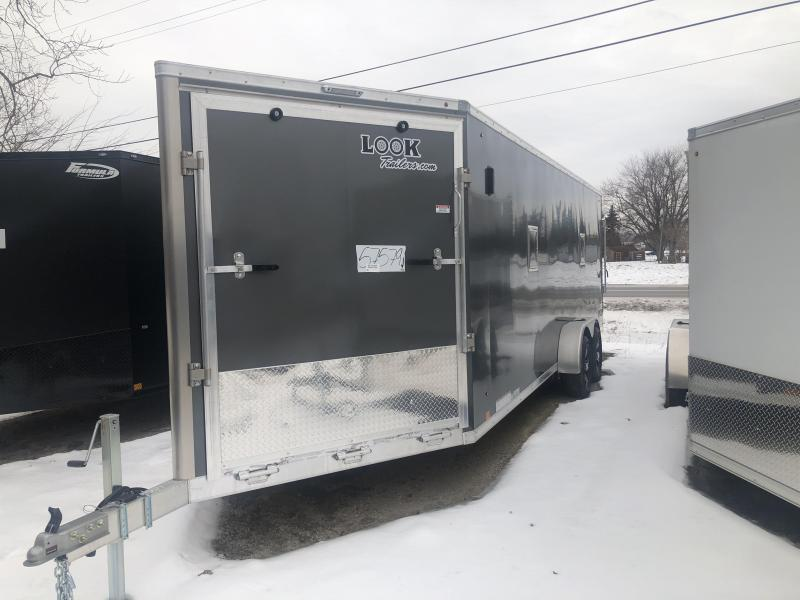 "7x27ft 4-place Snow Trailer - 6'6"" Inside Height - Loaded Snow Package - All Aluminum - All 16"" on Center"