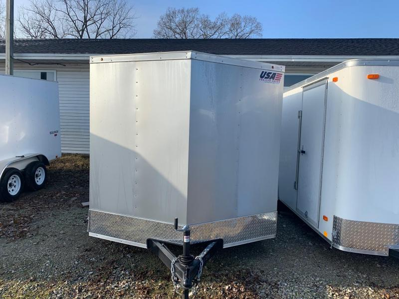 7x12 USA Model w/ Ramp Door