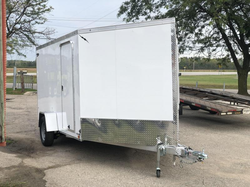 2020 Lightning Trailers 7 X 17 Aluminum Snowmobile Trailer