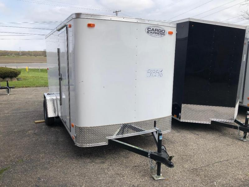 2021 Cargo Express Ex Cargo 6 Wide Single Cargo / Enclosed Trailer
