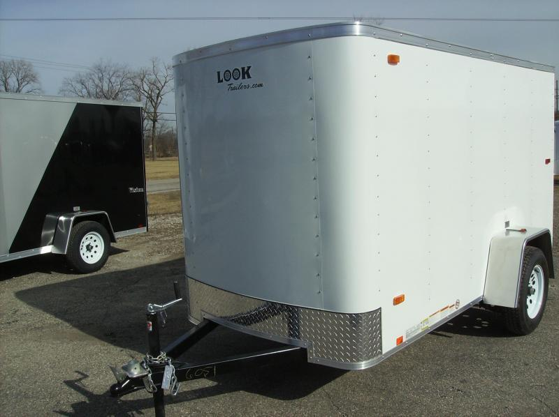 5x8 LOOK Enclosed Trailer w/ Ramp Door