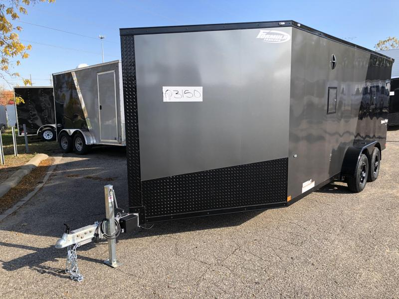 2020 Formula 7 x 23 Formula Black Out Snowmobile Trailer