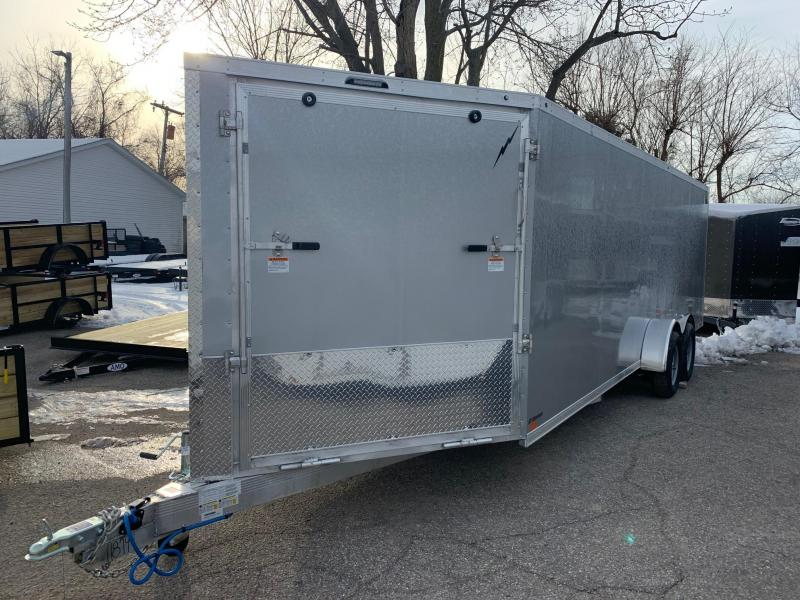 7x29ft 5-place Forest River All Aluminum Snow Trailer