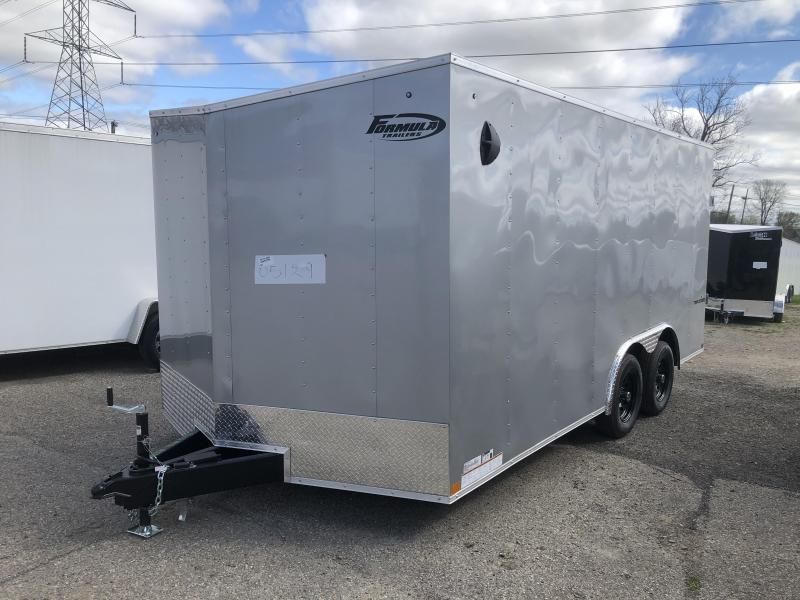 2021 Formula Traverse 8.5 x 16 Enclosed Cargo Trailer