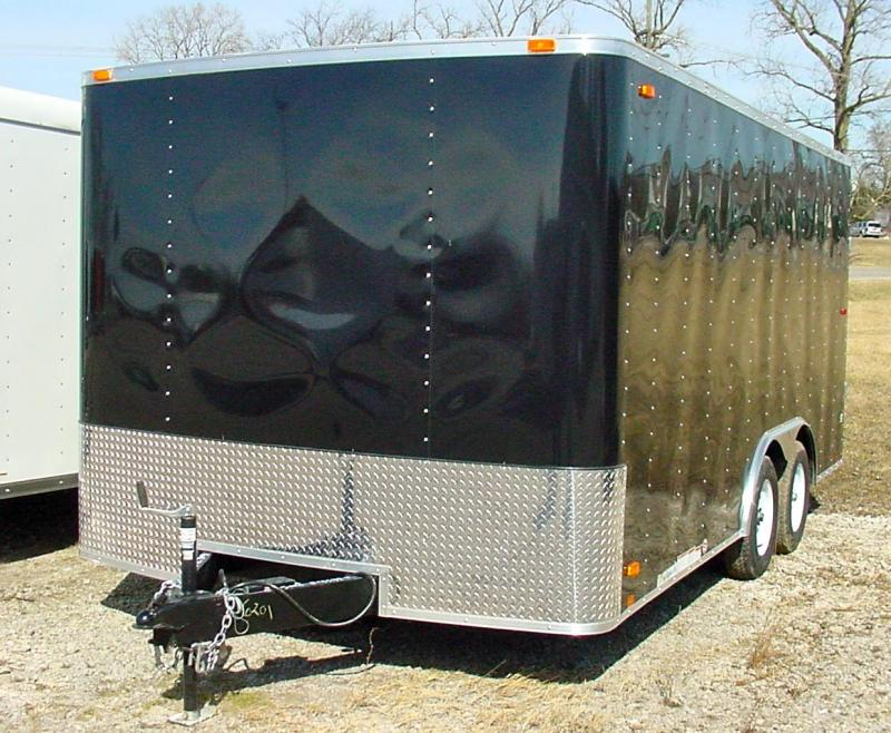 8x16 LOOK Enclosed Car Hauler Trailer
