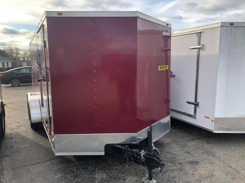 7x16 USA Model w/ Ramp Door