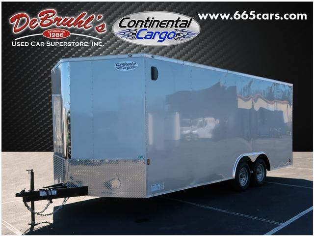2020 Continental Cargo 8.5X20 Tandem Axle Enclosed Cargo Trailer
