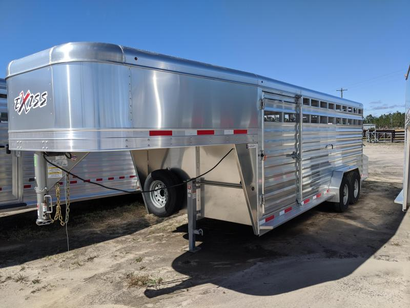 2020 Exiss Trailers STK 7020 Livestock Trailer