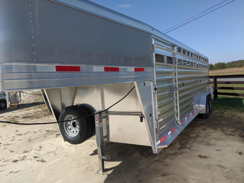 2020 Exiss Trailers STK 7024 Livestock Trailer
