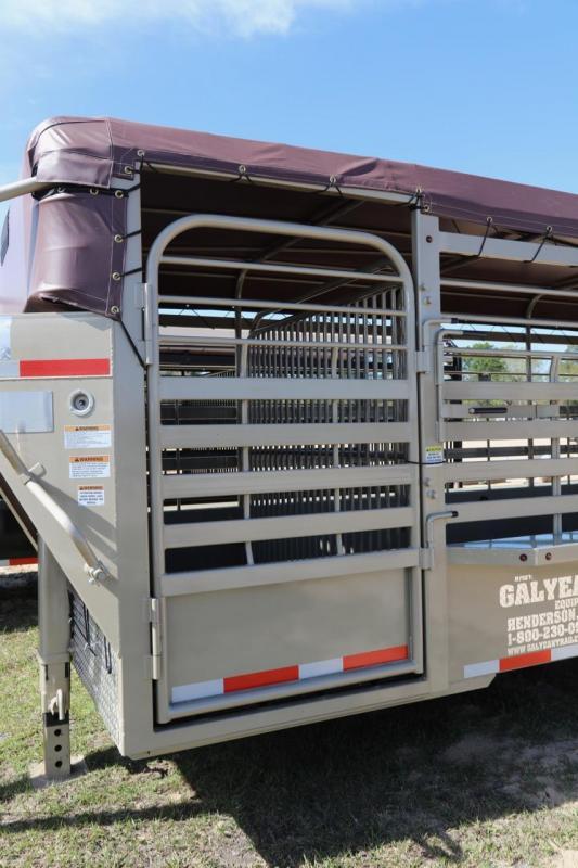 2018 Galyean Livestock Trailer