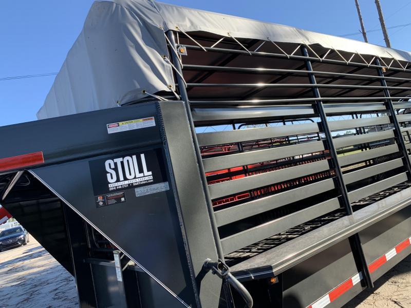 2018 Stoll Trailers Inc. Livestock Trailer