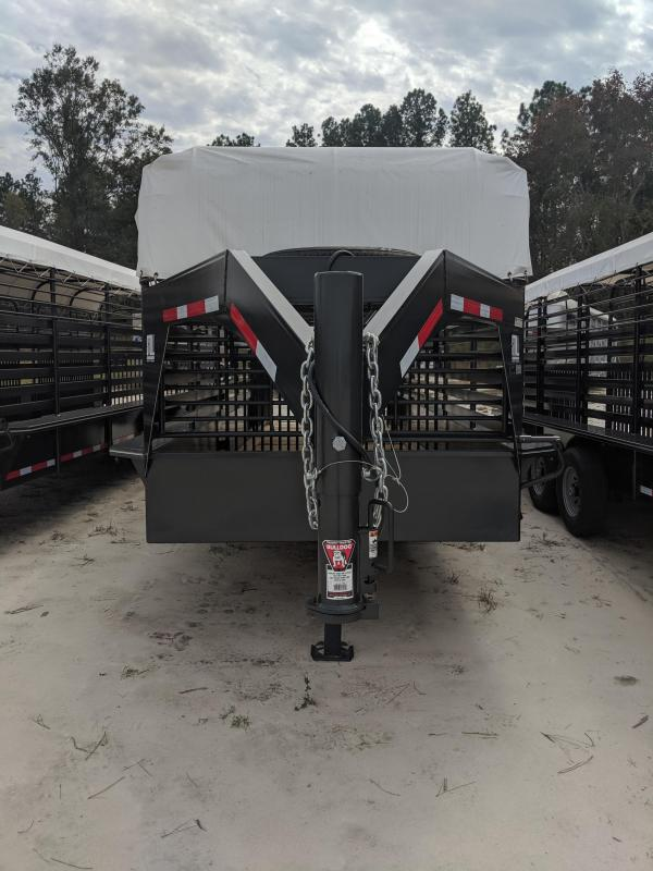 2019 Stoll Trailers Inc. Stock Livestock Trailer