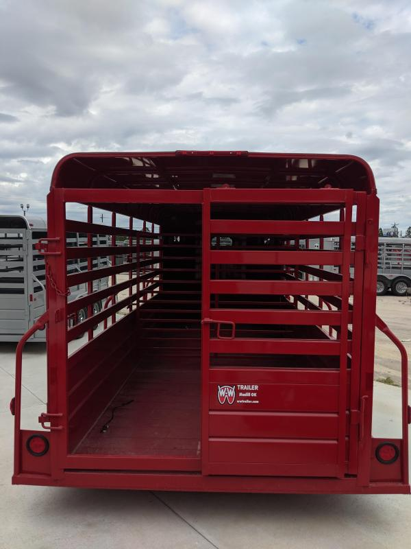 2020 W-W Trailer All-Around Livestock Trailer