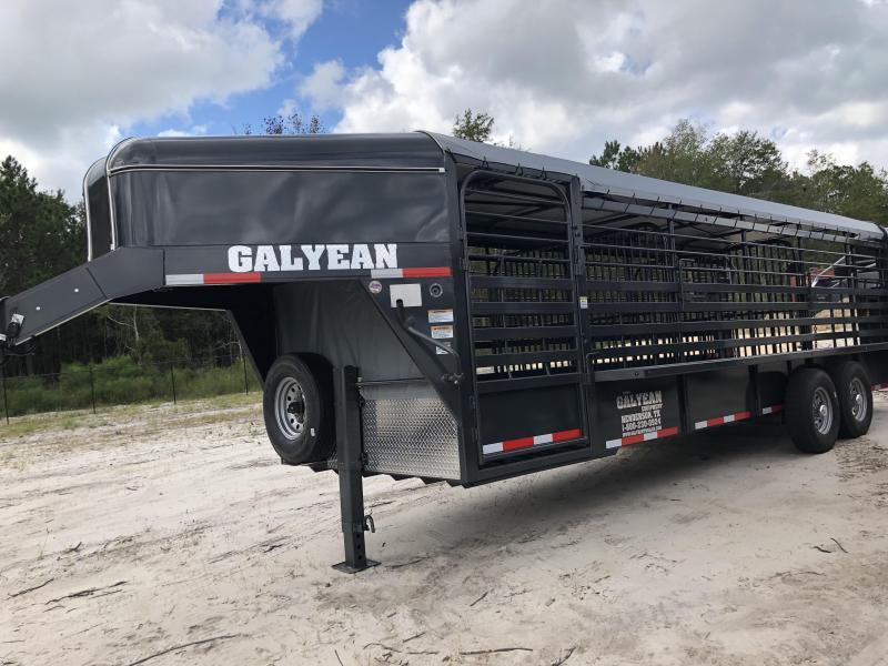 2018 Galyean 24' Livestock Trailer