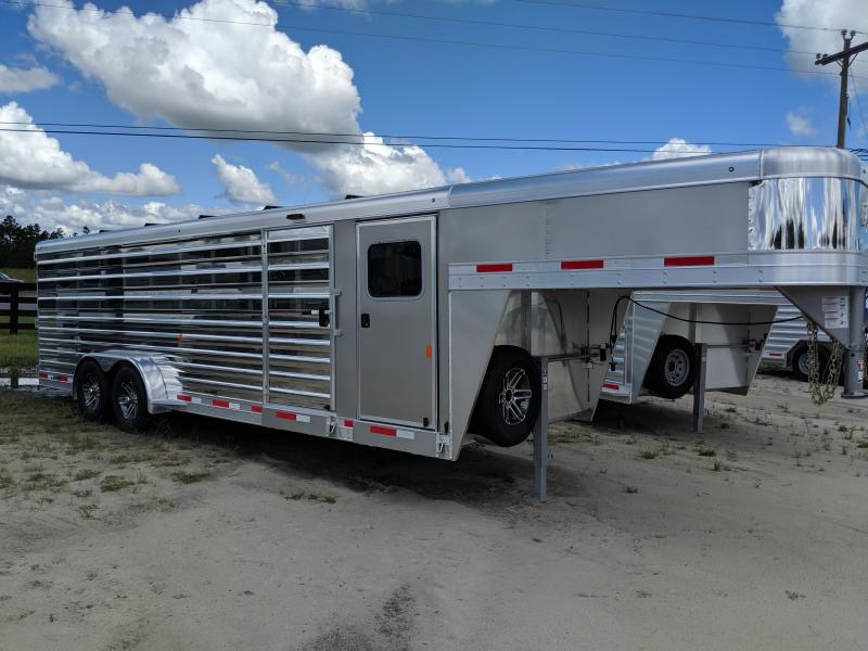 2020 Exiss Trailers Exhibitor 7024 Livestock Trailer