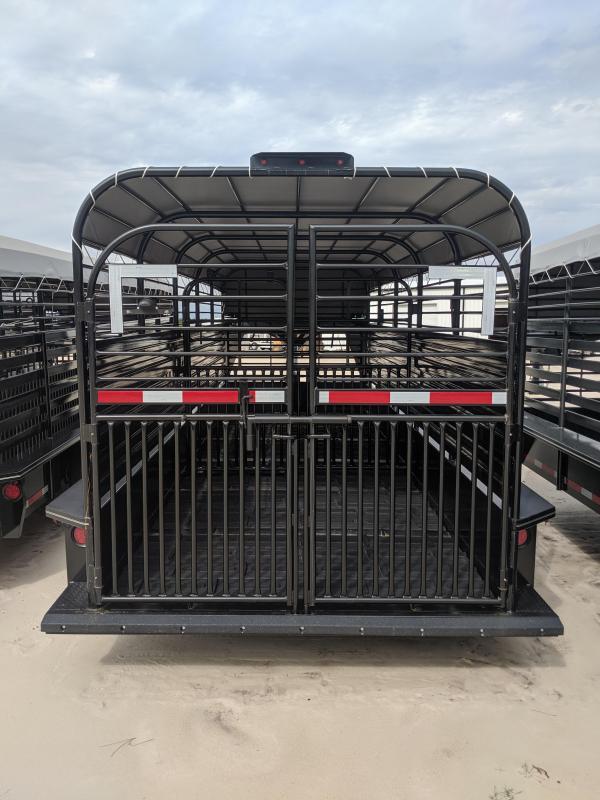 2019 Stoll Trailers Inc. Stock Livestock Trailer