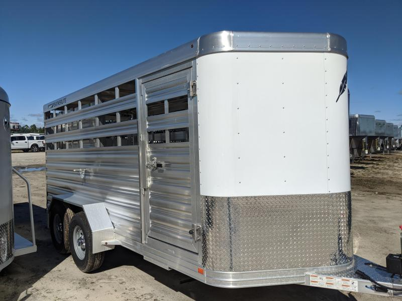 2020 Featherlite 8107-6716-STD Livestock Trailer