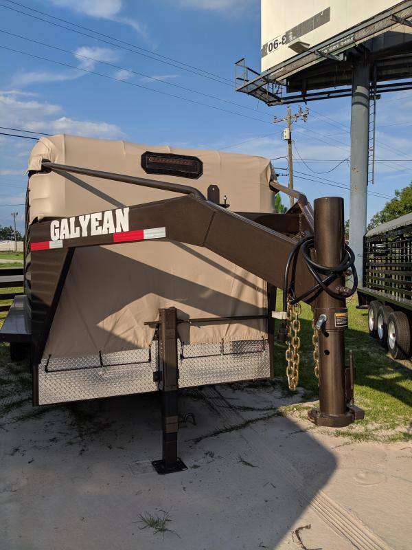 2019 Galyean Stock 24 Livestock Trailer