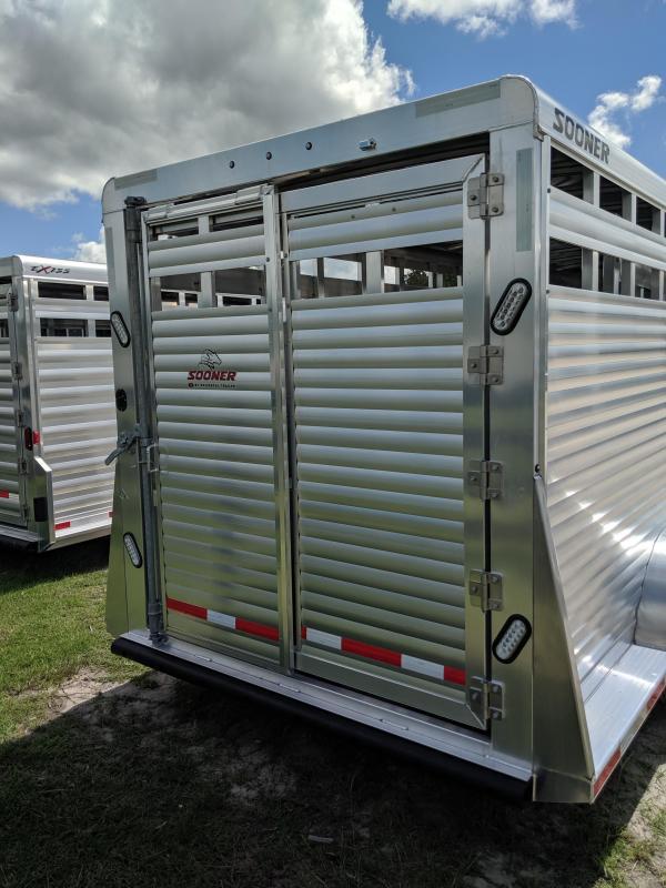 2020 Sooner SRD 7024 Livestock Trailer