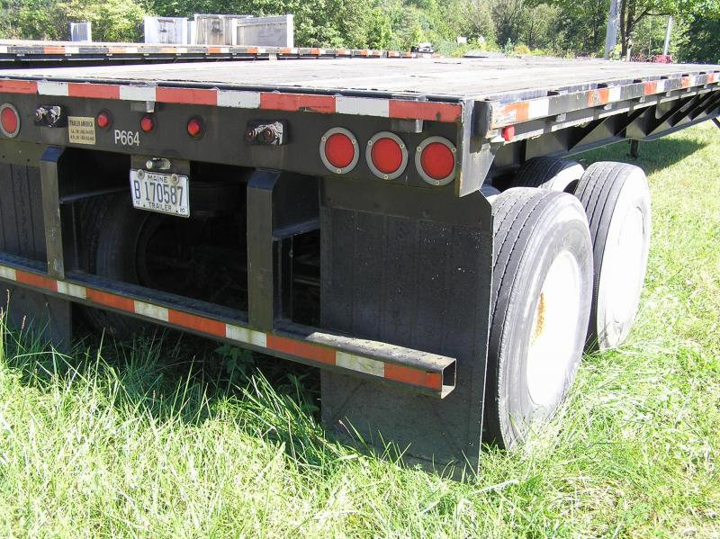2009 Pitts 48ft x 102 fixed tandem Flat Bed