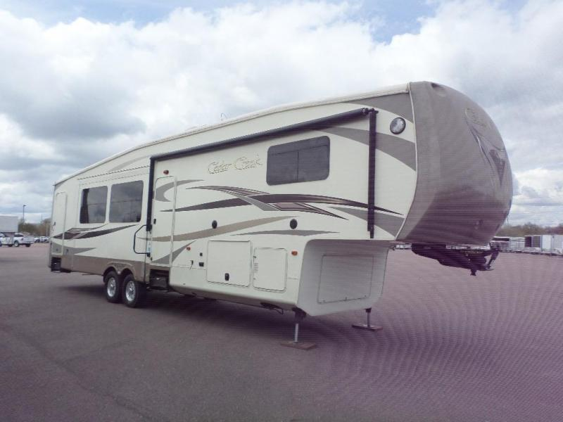 2013 Forest River Cedar Creek 42' Camper