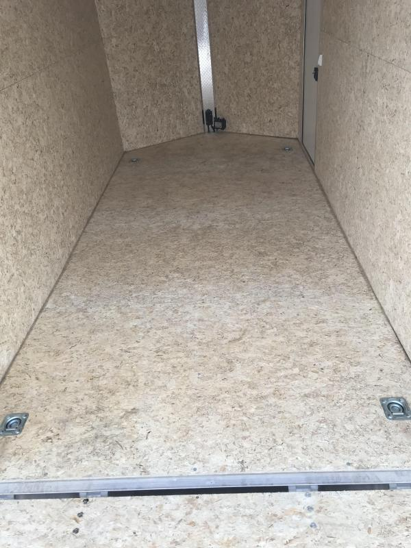 2020 EZ Hauler 7'x14' Enclosed Cargo Trailer