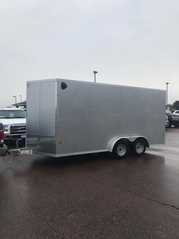 2020 E-Z Hauler 7.5 x 16 Enclosed Cargo Trailer