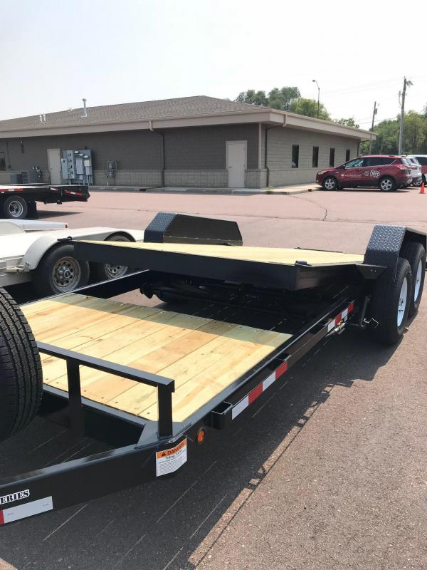 2018 D&K 22' Ultimate Tilt Bed Trailer