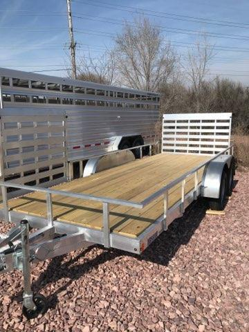 2019 Mission 18' Open Utility Trailer
