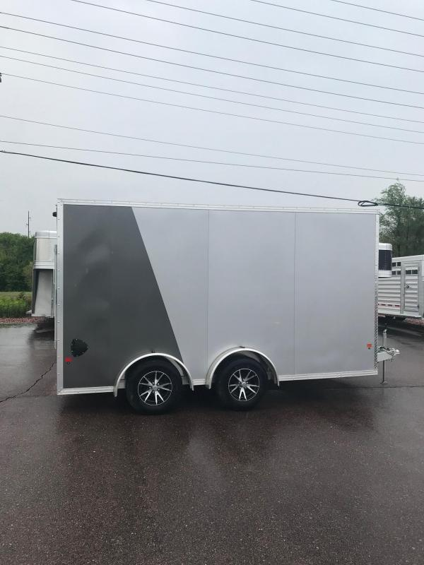 2020 EZ Hauler 7.5 x 14 UTV Enclosed Cargo Trailer