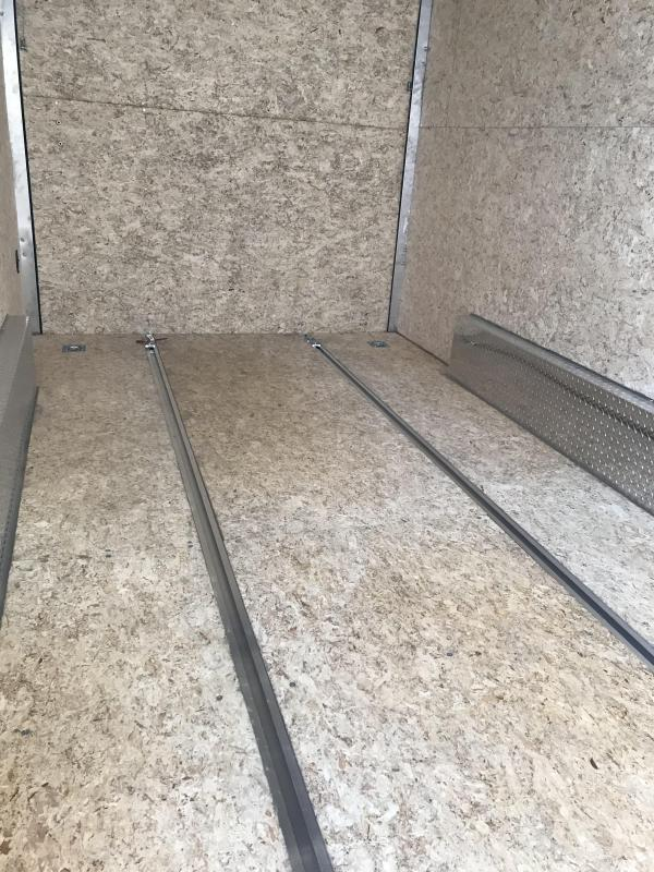 2020 EZ Hauler 7.5' x 16' Enclosed Trailer